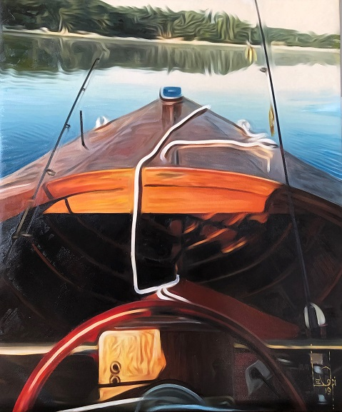 Sorry, a visual representation of Lee Colpi's work entitled, 1952 Chris Craft Riviera failed to load.  Please try again later or contact Lee Colpi for more information about this work.