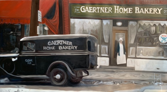 Sorry, a visual representation of Lee Colpi's work entitled, The 1933 Gaertner Home Bakery failed to load.  Please try again later or contact Lee Colpi for more information about this work.