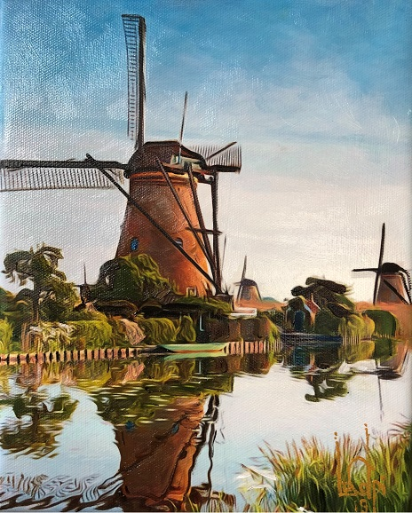 Sorry, a visual representation of Lee Colpi's work entitled, Kinderdijk, Netherlands failed to load.  Please try again later or contact Lee Colpi for more information about this work.