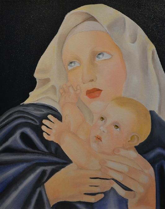 Sorry, a visual representation of Lee Colpi's work entitled, Madonna and Child failed to load.  Please try again later or contact Lee Colpi for more information about this work.