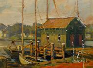 larger image of the work, The Boat Dock