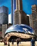 larger image of the work, The Chicago Bean