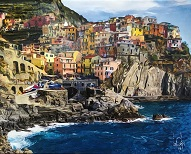 larger image of the work, Cinque Terre, Northern Italy