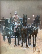 larger image of the work, The Coachman