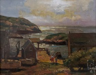 larger image of the work, Galway Bay Fisherman