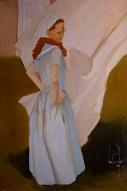 larger image of the work, The Laundress