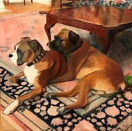 larger image of the work, Man's Best Friends