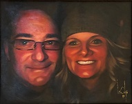 larger image of the work, Michael and Nichele