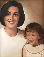 larger image of the work, Mother and Daughter