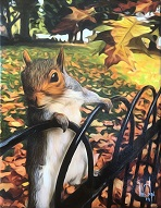 larger image of the work, The Squirrelly Squirrel
