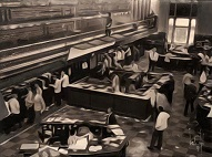 larger image of the work, Chicago Stock Exchange 1936