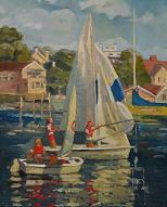 larger image of the work, The Regata