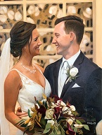 larger image of the work, The Wedding Day Couple